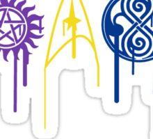 Fandom Symbols color Sticker