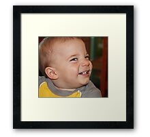 """Say Cheese"" Framed Print"