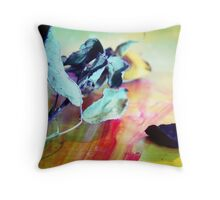 Flower In Natural Light Throw Pillow