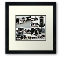 Clarinet Bliss - Command Performance Framed Print