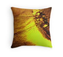 Beauty in the Breakdown - Yellow Throw Pillow