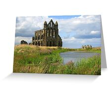 Romancing The Ruins Greeting Card