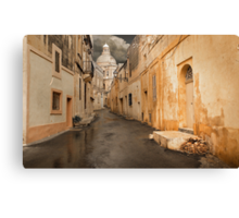 Siggiewi --- Dull Morning Canvas Print