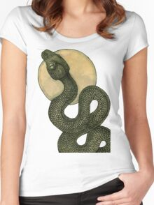 Snake Dance Women's Fitted Scoop T-Shirt
