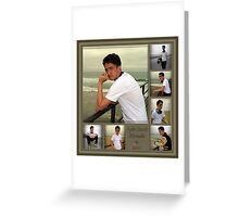 Sample Graduation Portrait Collage Greeting Card
