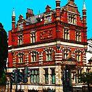 The Bank Buildings, 239 Lewisham Way. by John Gaffen