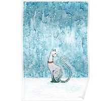 The Winter Cat Poster
