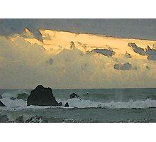 Ocean Haiku Photographic Print