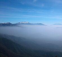 california mountains by milena boeva