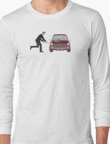 A Damn Good Thrashing! Long Sleeve T-Shirt