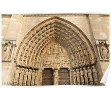 Notre Dame de Paris - 5 - The Portal Of The Last Judgment ©  Poster
