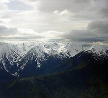 Dark Clouds at Hurricane Ridge by mrscaer