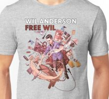Wil Anderson - Free Wil (T-Shirt) Unisex T-Shirt