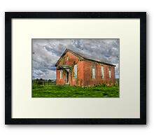Schools Out Completely Framed Print
