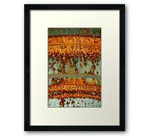 Asthenosphere Framed Print