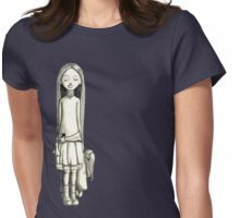 Before Womens Fitted T-Shirt