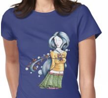 Lost to a Thought Womens Fitted T-Shirt