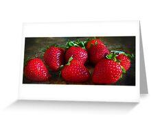 Strawberries Greeting Card