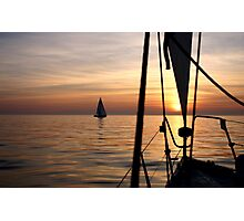 Sail romance Photographic Print