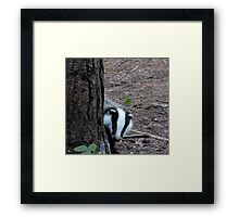 where are you ? Framed Print