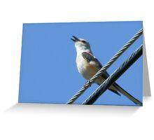 Sing- Along Closeup Greeting Card