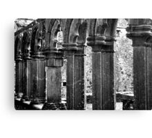 Fore Abbey Ruins Close up Canvas Print