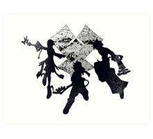 Keyblade War Art Print