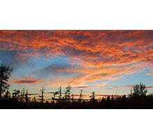 Irish sunset - edited Photographic Print