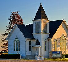 Country Churches by Sheryl Gerhard