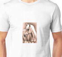 Horse Portrait Haflinger Stallion Unisex T-Shirt