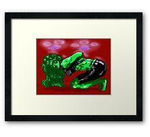 Hulk female Framed Print