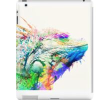 Watercolor reptile iPad Case/Skin