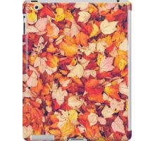 Scarlet Leaves  iPad Case/Skin