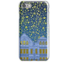 Cookes Building Starry Night iPhone Case/Skin