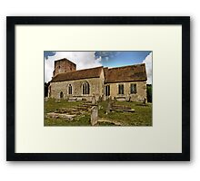 St.Matthew Warehorne Framed Print