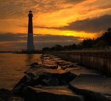 Barnegat Lighthouse Sunrise by Michael Mill