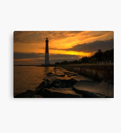 Barnegat Lighthouse Sunrise Canvas Print
