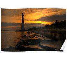 Barnegat Lighthouse Sunrise Poster