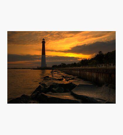 Barnegat Lighthouse Sunrise Photographic Print