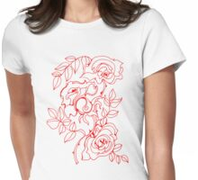 Roses Womens Fitted T-Shirt