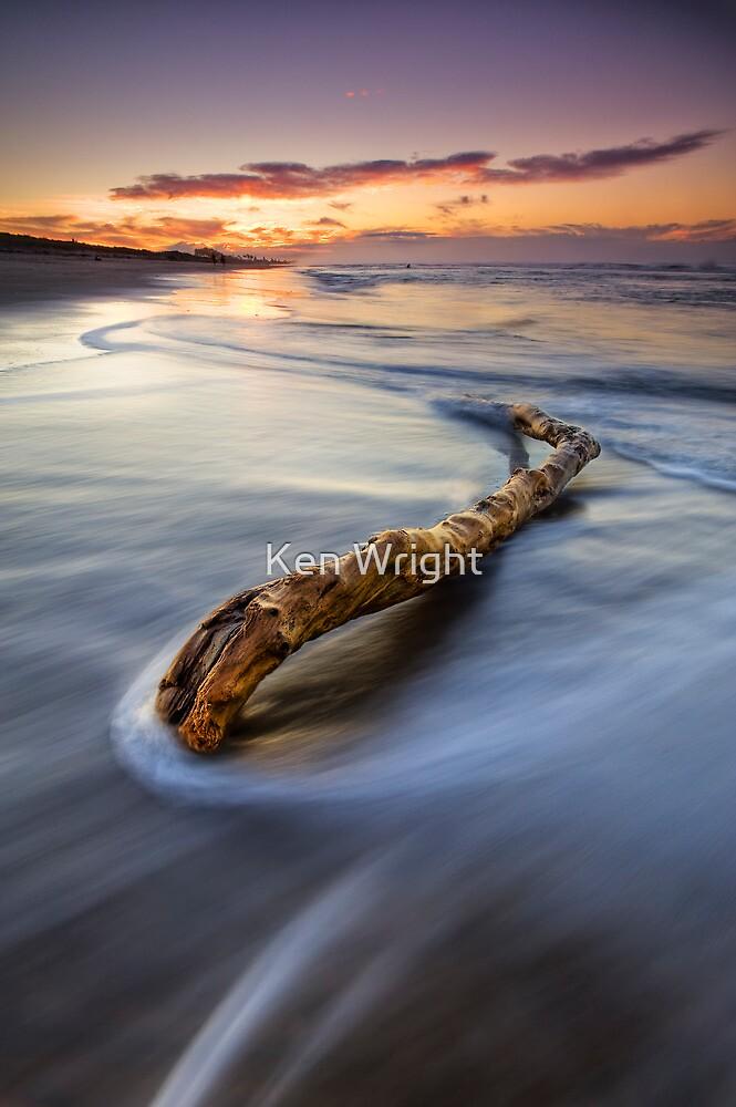 Just Drifting ~ Papamoa Dusk by Ken Wright