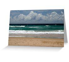 peregian beach Greeting Card