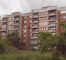 Buildings in Sarajevo by rasim1