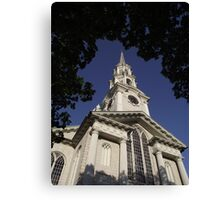 First Unitarian Church Canvas Print