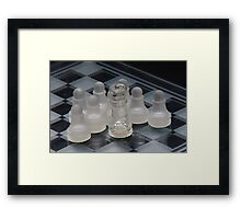 Chess Attraction Framed Print