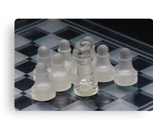 Chess Attraction Canvas Print