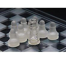 Chess Attraction Photographic Print