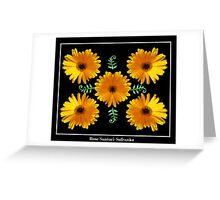 Daisy Collage Greeting Card