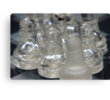 Chess Follow 2 Canvas Print