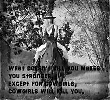 COWGIRL HEART Photographic Print